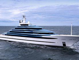 Oceanco Unveil Largest Dutch Yacht - 110m Superyacht JUBILEE