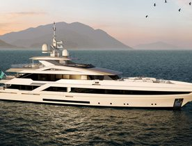 Superyacht 'Project Tala' ready for outfitting