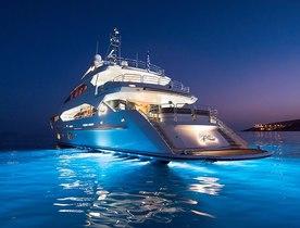 Sunseeker superyacht PATHOS joins Greek charter fleet