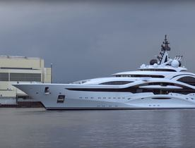 Brand New Video Of Lurssen Superyacht 'Al Lusail'