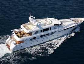 Charter Yacht  'LADY M' featured in new 'Wolf of Wall Street' Film