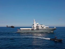 Superyacht 'Planet Nine' reveals January availability for Antarctica and Patagonia yacht charters