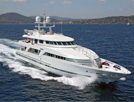 Mediterranean charter deal: Superyacht 'Deep Blue II' offers 20% discount