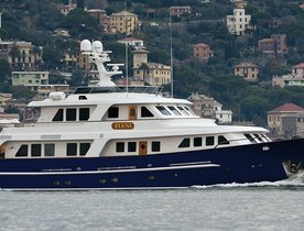 Superyacht Eleni now available for charter in South of France after refit