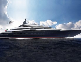Lurssen launches 142m Project Redwood