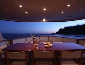 Classic Feadship Motor Yacht 'Heavenly Daze' Heads to Ibiza