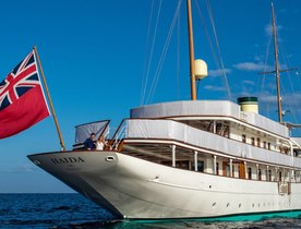 Classic yacht 'Haida 1929' now open for Greece yacht charters