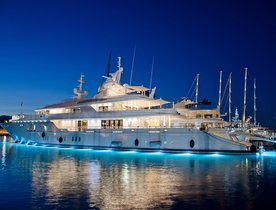 New Year's in St Bart's on board Superyacht SIREN