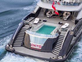 ISA Motor Yacht OKTO Opens for Monaco Grand Prix Charter