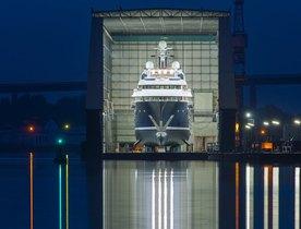 Lürssen Shipyard Comment on Their Brand New 85m Charter Yacht Solandge