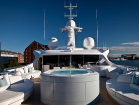 Superyacht 'Odessa II' Open For Charter At The Monaco Yacht Show 2016