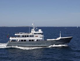 Last minute offer to charter superyacht 'Axantha II'