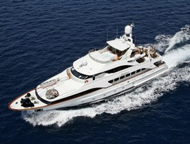 Motor Yacht SATINE Available in the West Mediterranean