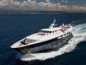 New Look Superyacht Sophie Blue For Charter