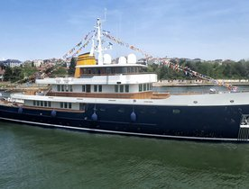 Turquoise launches 56m expedition yacht 'Blue II'