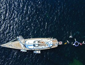 Luxury sailing yacht 'Parsifal III' returns to charter fleet with Greek charter licence