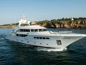 Superyacht NASSIMA Special Offer in the Mediterranean