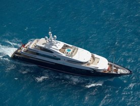 Charter Yacht CLOUD 9 will be on display at Singapore Yacht Show