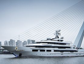 Oceanco's 90m DreAMBoat sets off on maiden voyage