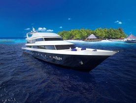 Superyacht AZALEA New to Global Charter Fleet in the Maldives