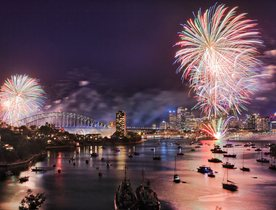 Celebrate New Year's in Sydney Aboard Oceanfast Superyacht SAHANA