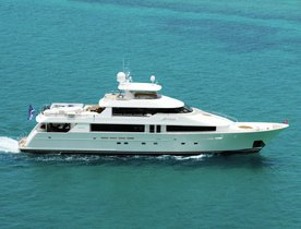 Superyacht ARIOSO Lowers Charter Rate