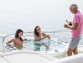 South of France charter special aboard Sunseeker motor yacht FLEUR