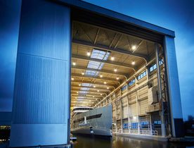 Video – Superyacht SAVANNAH Launching from Feadship