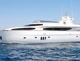 Eurocraft's 29 Metre Yacht Beija Flore For Charter in 2013