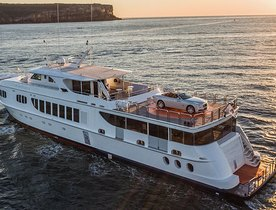 VIDEO: Superyacht TANGO Launches New Rolls-Royce to Australian Market