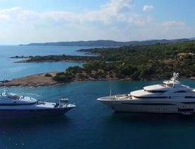 Video: Exceptional Collection Of Charter Yachts Filmed Cruising In Greece