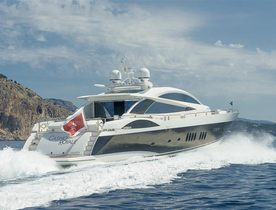 Charter Sunseeker Motor Yacht 'Casino Royale' for Less This July