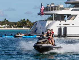 Charter Yacht W Attending Palm Beach Boat Show 2018