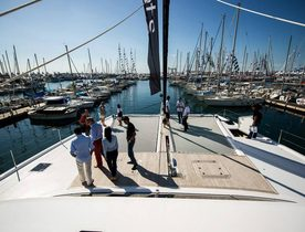 Sunreef Yachts holds press day at Cannes Boat Show