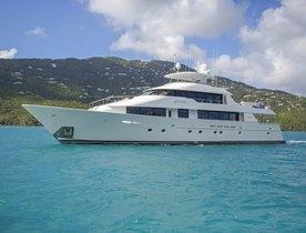 Cruise the Whole Caribbean On Board Motor Yacht ARIOSO