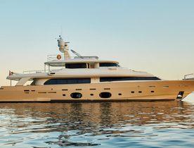 Luxury yacht DEVA joins the charter market in Ibiza