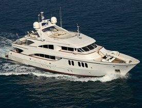 Charter Yacht Sea Shell Has Last Minute Availability
