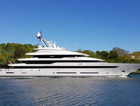 Delivered: Lurssen's 87m superyacht AVANTAGE