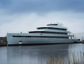 Feadship M/Y SAVANNAH Launched and Offered for Occasional Charters