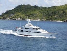 Luxury Motor Yacht TELEOST Available in the Caribbean