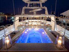 Superyacht VICKY Rejoins the Charter Fleet