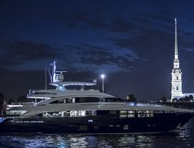 Superyacht SOLARIS Available to Charter in the Maldives