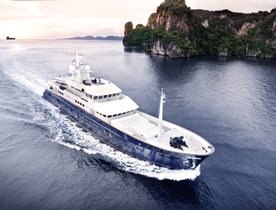 Life on board Superyacht 'Northern Sun' in South East Asia