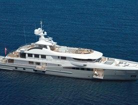 55m superyacht PAPA joins the charter fleet