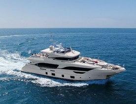Mediterranean charter deal: Benetti superyacht URIAMIR offers special rate