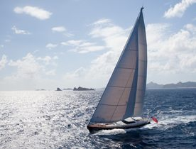 Luxury Sailing Yacht DRUMBEG Now Cruising in the Caribbean
