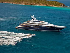 Luxury Yacht SOLANDGE Available in the Caribbean this Winter Season
