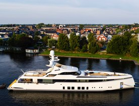 Feadship launches custom 50m fast superyacht Project 706