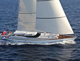 Sailing Yacht 'Caroline 1' Special Offer in the Mediterranean