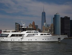 Superyacht SIMA Offers a Luxury New York Charter Vacation